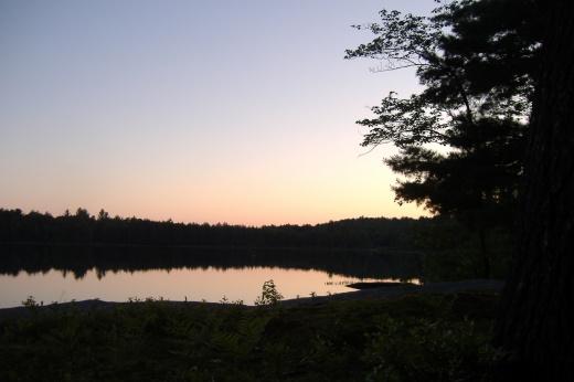 High Peaks Sunset