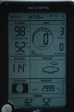 Heat Index 114