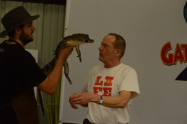 Hold a Gator!