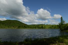 Fishing Engleville Pond